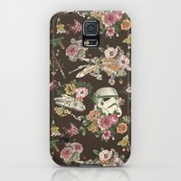 Galaxy S5 Cases featuring Botanic Wars by Josh Ln