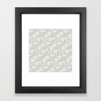 Camomila Framed Art Print