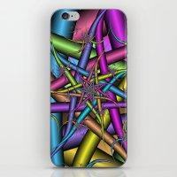 Star Fractal iPhone & iPod Skin