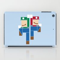 Super Bro High Five iPad Case