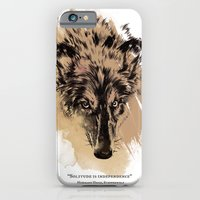 iPhone & iPod Case featuring Solitude is independence by Studio Caravan