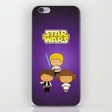 Star Wars Trio iPhone & iPod Skin