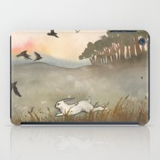 Little White Rabbit and the Blackbirds iPad Case