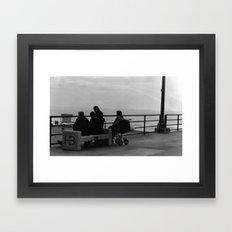 Family Tide Framed Art Print