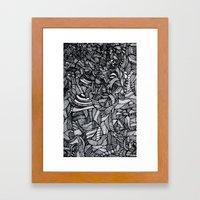 It's in the Tea Leaves Framed Art Print