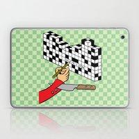 RAZOR CROSSWORD Laptop & iPad Skin