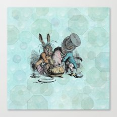 Tea Party (the real one) Canvas Print