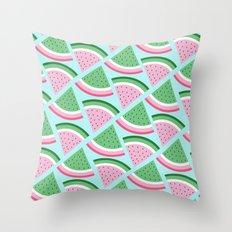 FreshWatermelon Throw Pillow