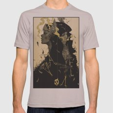 No Love Mens Fitted Tee Cinder SMALL