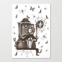 Photoshoot Canvas Print