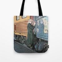 Tote Bag featuring A Departure by Megs stuff...
