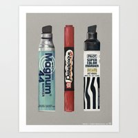 Markers: Magnum + Sakura + Pilot Art Print
