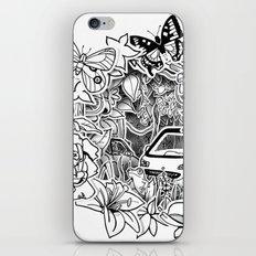 Cars in the Wild (3D papercut) iPhone & iPod Skin