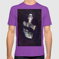 Wear It Like A Crown Mens Fitted Tee Ultraviolet SMALL
