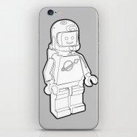 Vintage Lego Spaceman Wi… iPhone & iPod Skin