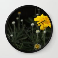 Spring - Chrysanthemum Wall Clock