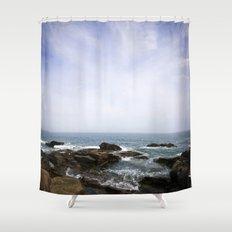 Acadia View - Ocean Scene  Shower Curtain