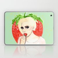 Strawberry Queen Laptop & iPad Skin