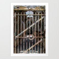 Through the Gate Art Print