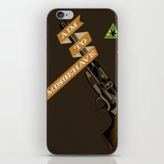 Aim to Misbehave iPhone & iPod Skin