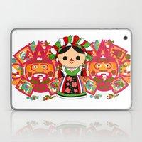 Maria 5 (Mexican Doll) Laptop & iPad Skin