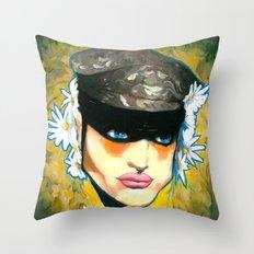 Modern Camouflage Throw Pillow