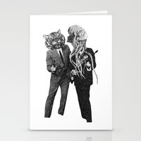 The Made Us Detectives (1979) Monochrome Stationery Cards