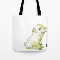 Pig Illustration Tote Bag