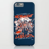 iPhone & iPod Case featuring New Wave Laser Cats by Gimetzco's Damaged Goods