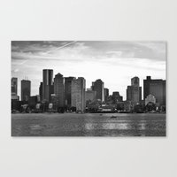 Boston, I love you. Canvas Print