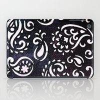painted paisley iPad Case