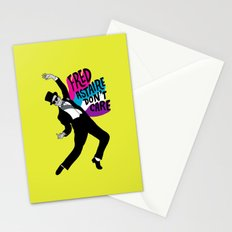 He Don't Care Stationery Cards