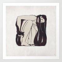 My Simple Figures: The Square Art Print