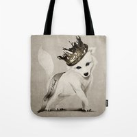 House Stark Pup Tote Bag