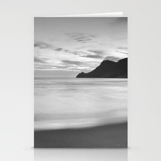 Silver sea. BN Stationery Card