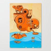 Hello Sailor Canvas Print