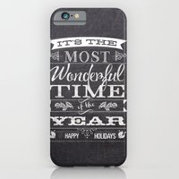 Holiday Greetings iPhone 6 Slim Case