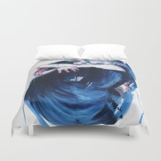 the noise of the sea Duvet Cover