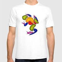 Frog Mens Fitted Tee White SMALL