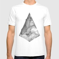 Pyramid Scheme Mens Fitted Tee White SMALL