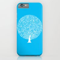 iPhone & iPod Case featuring Blue Tree by Judy Kaufmann