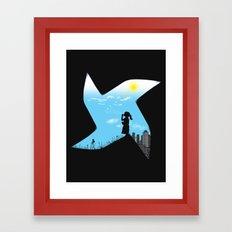 Playground Borders Framed Art Print