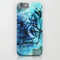Turquoise Hamsa iPhone 6 Slim Case