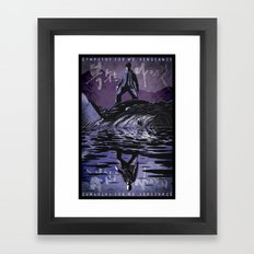 Sympathy for Mr. Vengeance [limited color] Framed Art Print