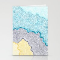 Color Waves Stationery Cards