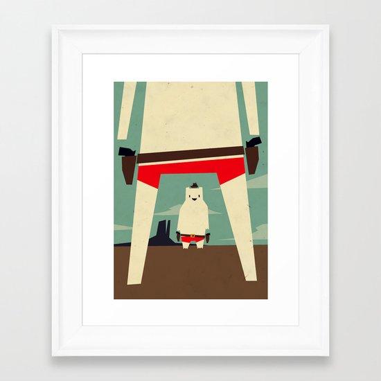 high noon Framed Art Print