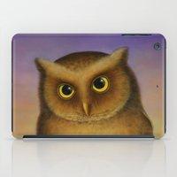 Mountain Scops Owl iPad Case
