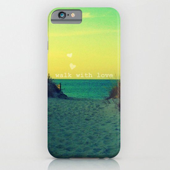 Walk In Love iPhone & iPod Case