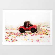 Candy Land Construction Art Print