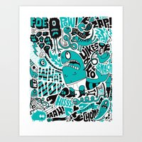 Foe! Art Print
